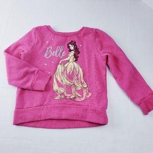 Beauty and the Beast Sweatshirt 4t